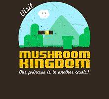 Visit Mushroom Kingdom Unisex T-Shirt