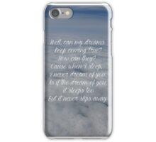 caught lyrics florence and the machine iPhone Case/Skin