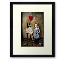 Art Is Hard Framed Print
