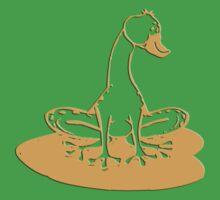 duckfrog - frog, duck, funny, cartoon, cute, humor Baby Tee