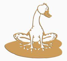 duckfrog - frog, duck, funny, cartoon, cute, humor One Piece - Long Sleeve