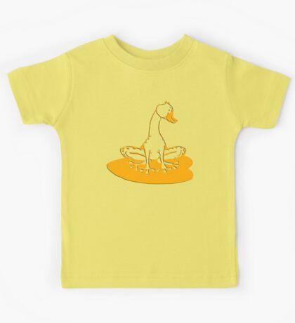 duckfrog - frog, duck, funny, cartoon, cute, humor Kids Tee