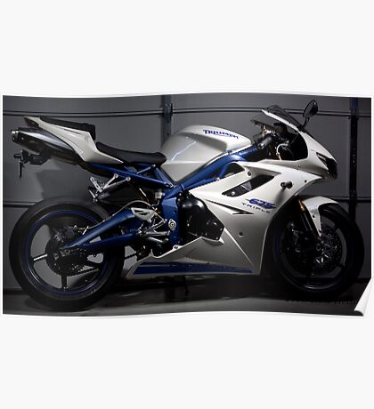 2010 Trimph Daytona 675 Special Edition Poster