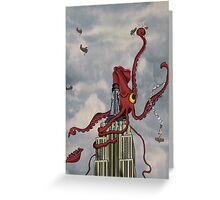 Squid Vicious Greeting Card