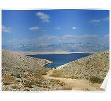 Adriatic sea heart Poster