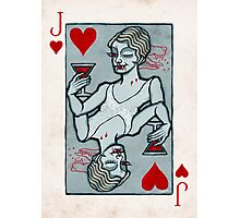 Lucy Westenra, Vampire Jack of Hearts Photographic Print