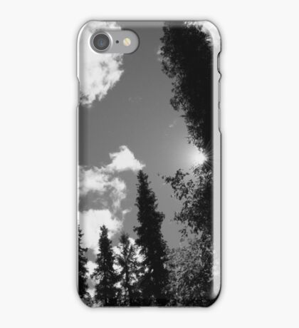 Look Up into the Alaskan Sky iPhone Case/Skin