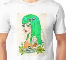Psychobilly Babe Unisex T-Shirt