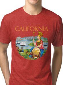 California seal Tri-blend T-Shirt