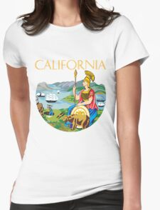 California seal Womens Fitted T-Shirt