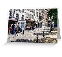 Life in Paris Greeting Card