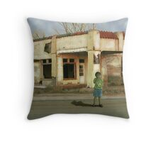 Past Days in Present Moments  Throw Pillow