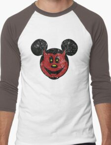 Devil Mickey Men's Baseball ¾ T-Shirt