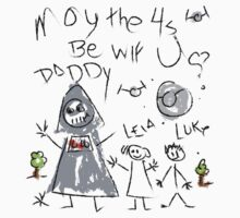 May the 4s Be wif U Daddy Kids Tee