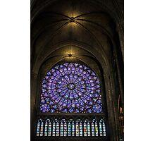 Inside The Notre Dame de Paris Photographic Print