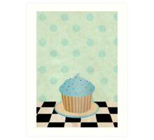 Delicious cupcake Art Print