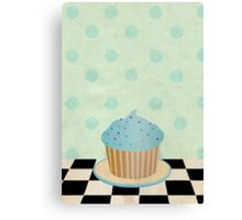 Delicious cupcake Canvas Print