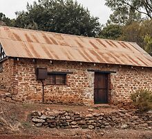 Old Stone Cottage, Grey's Hill, Bridgetown, Western Australia. by Elaine Teague