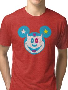 Devil Mickey Tri-blend T-Shirt