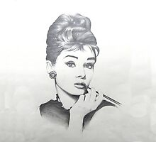 AUDREY HEPBURN by Marghe3891