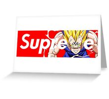 Majin Supreme Greeting Card