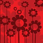 Floral background by Richard Laschon