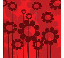 Floral background Photographic Print