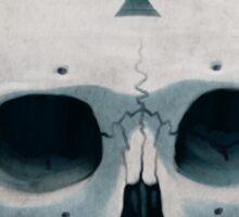 Vampire Skull Ace of Spades Sticker