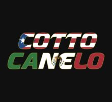 Cotto vs. Canelo - Fight Shirt Kids Clothes