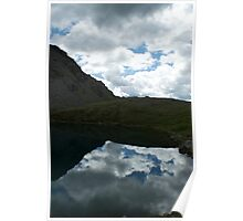 Hatcher Pass Alaskan Mountains and Lake Poster