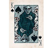 Orlock, Vampire King of Spades Photographic Print