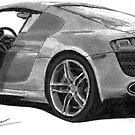 Forza III Audi R8 by Brian Lucas
