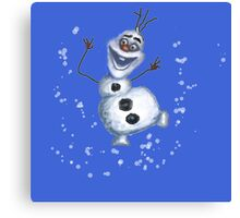 Olaf Frozen disney  Canvas Print