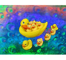 Swimming In Bubbles Photographic Print