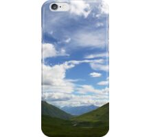 Hatcher Pass Alaskan Mountains Scenic View iPhone Case/Skin