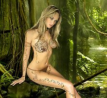 Jade in Rain Forest by jadeamber
