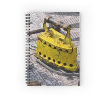 old iron for cloths Spiral Notebook