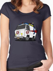 The Ecto-Machine  Women's Fitted Scoop T-Shirt