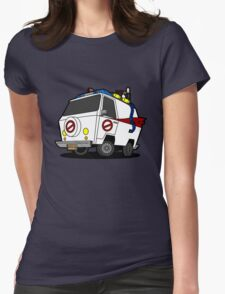 The Ecto-Machine  Womens Fitted T-Shirt