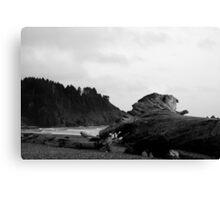 Quileute Nation B/W Canvas Print