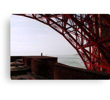 Beneath Golden Gate Bridge Canvas Print