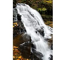 Vertical Waterfalls Landscape Photographic Print