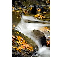 Waterfall Abstract Photographic Print