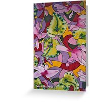 The Day She Met the Surgical Knife.. Greeting Card