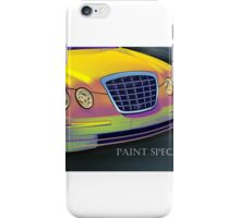 Car Painted to Specs - Check iPhone Case/Skin