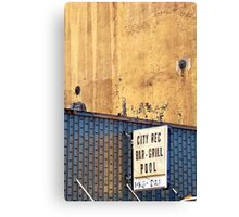 city rec Canvas Print
