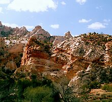 Grand Staircase - Escalante Red Rocks by PatGoltz