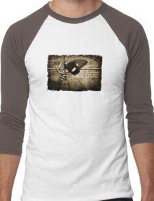 yin & yang (army colour) Men's Baseball ¾ T-Shirt