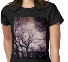 Gothic Landscape Womens Fitted T-Shirt