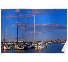 cityscape #3,Williamstown,Victoria,Australia Poster